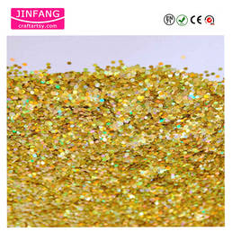 Laser gold Glitter Powder