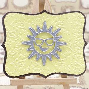 Craft Cutting Die For Sun Face