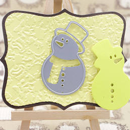 Craft Cutting Die for Snowman