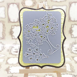 Craft Cutting die for Tree set