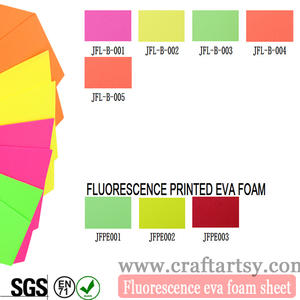 Factory direct sale high qualtiy Fluorescent EVA foam sheet