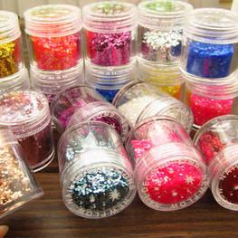 Atacado Nail art Glitter em pó