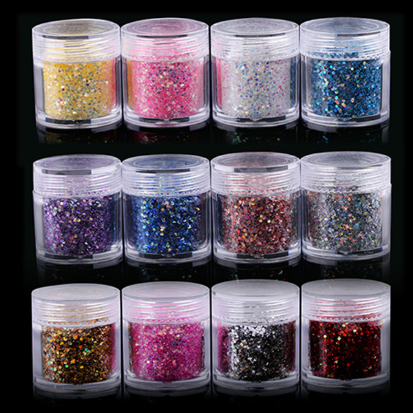 color chart for laser Glitter Powder