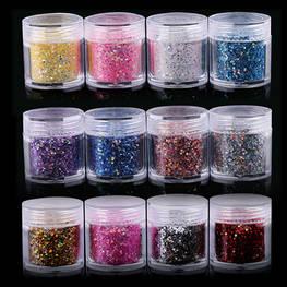 Gráfico de cor para laser Glitter Powder
