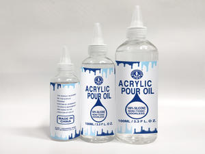 Acrylic Pouring Oil 100% Liquid Silicone Oil For Acrylic Pouring And Painting