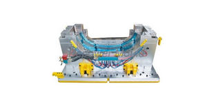 China abs plastic material injection molds manufacturer