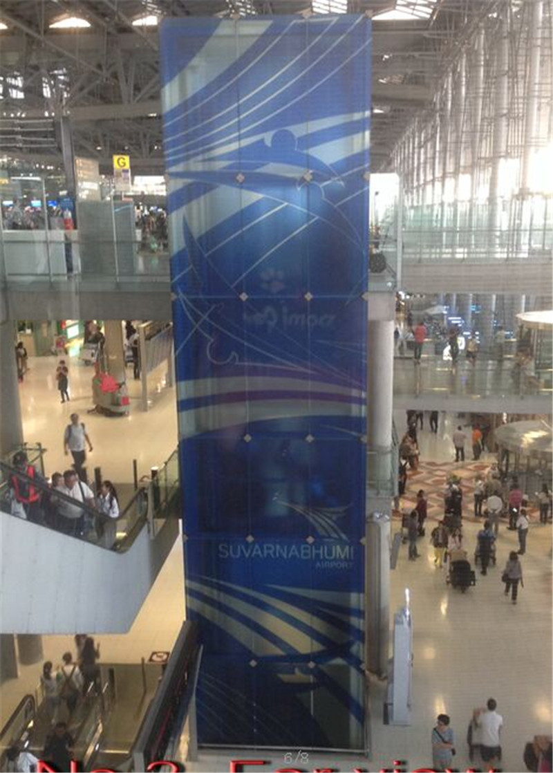 glass led screen