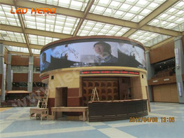 P16 flexible led display in Changsha