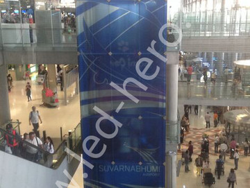 P10 transparent led display in California