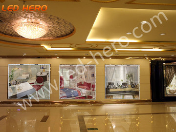 TW P16 transparent led display in Wenzhou