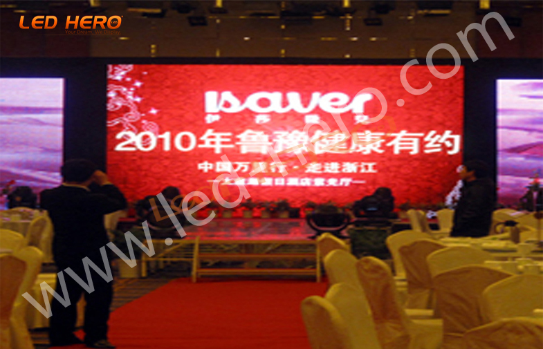 Indoor P31.25 mesh led display in Zhejiang
