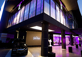 Transparente LED-Display-Cases