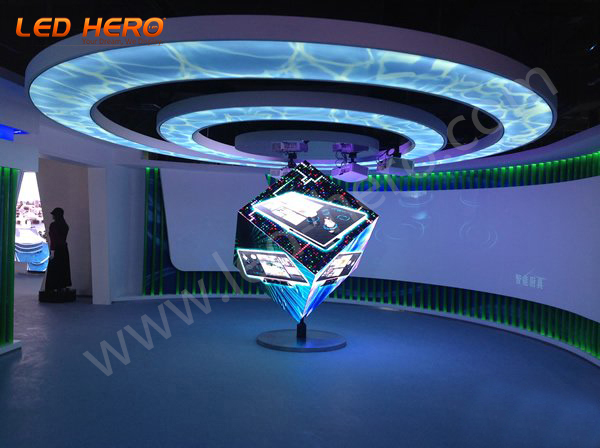 P4 flexible led display in Hefei
