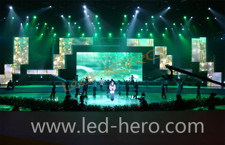 P31.25 mesh led display in Hefei