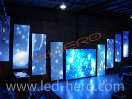 P37.5 LED Mesh Display in Shanghai