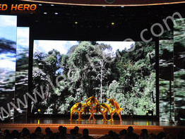 P3.91 rental led display in Chongqing