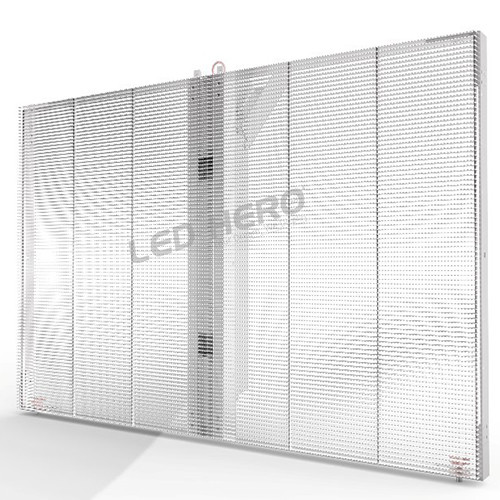 Customized Cabinet Size Transparent LED Display-0
