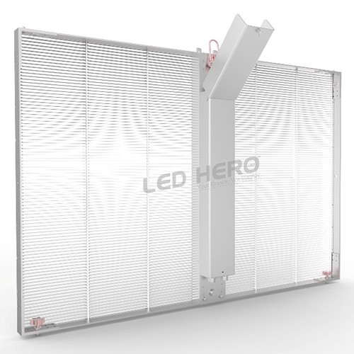 Customized Cabinet Size Transparent LED Display-1