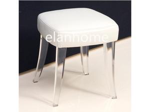 modern crystal stool