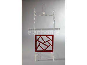 modern acrylic clothes rack from china factory