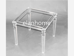 crystal acrylic coffee table clear acrylic side table acrylic tea table