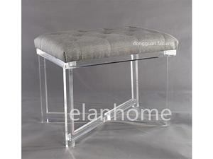 modern acrylic bench -C106