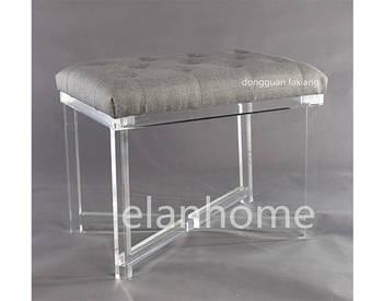 modern acrylic bench C106