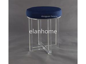 modern round acrylic stool-c107