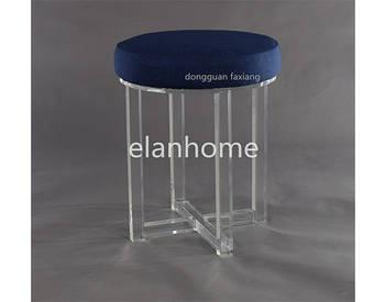 modern round acrylic stool c107