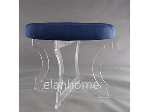 X Shaped acrylic bench C111
