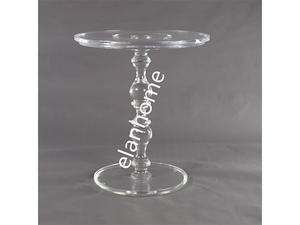 crystal lucite coffee table, clear acrylic coffee table, acrylic round table acrylic side table  from china factory