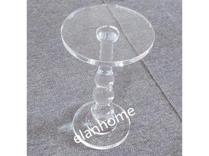 crystal acrylic small table manufacture