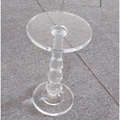 crystal acrylic small table