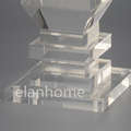 crystal lucite  legs 2507