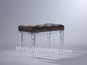 bench.acrylic bench,fashion crystal bench