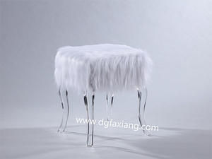 acrylic furniture acrylic leg bench
