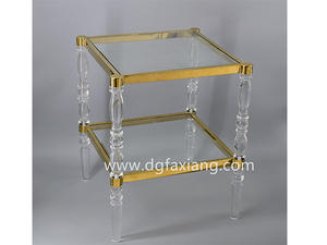 fashion side table acrylic end table acrylic bed table clear side table