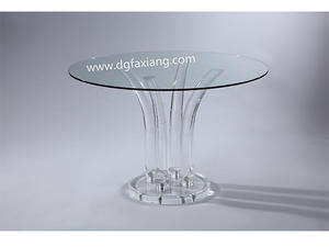 round acrylic dinning table, acrylic round dinning table,acrylic dinning table