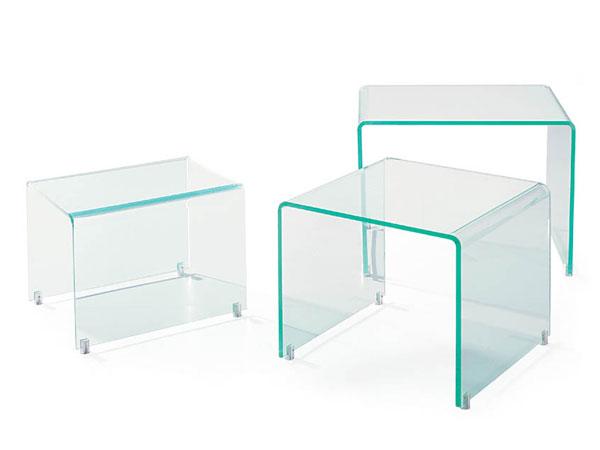 Modern Acrylic Nesting Table