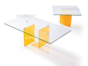 long acrylic coffee table manufactuer