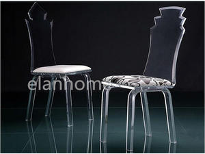 modern crystal acrylic dining chair from china factory