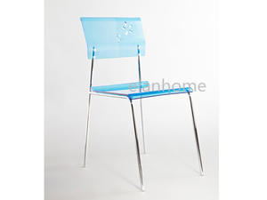 blue acrylic dining chair suppliers