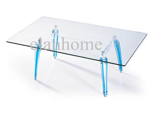 high quality lucite legs with tempered glass top suppliers
