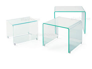 3sets  acrylic nesting table from china factory