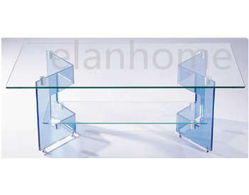 plexiglass coffee table