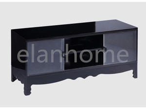 black tea acrylic TV stand