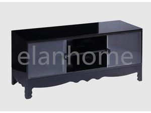 black tea acrylic TV stand