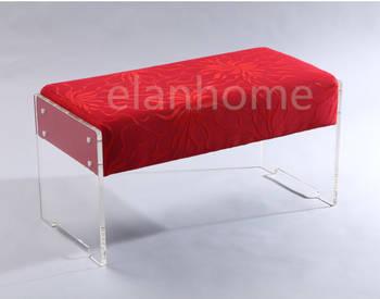 2 sets acrylic bench
