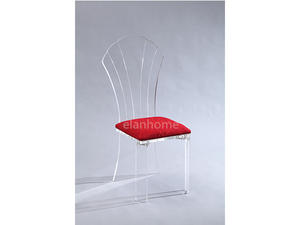 clear acrylic queen chair manufacturers from DongGuan  in china