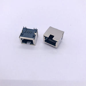 RJ45 56E 1x1 with shell and lamp